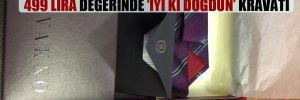 Bakan Pakdemirli'den milletvekillerine 499 lira değerinde 'İyi ki doğdun' kravatı