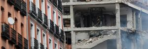 Madrid'in merkezinde şiddetli patlama!