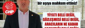 CHP'li Emir: Türkiye'yi bir aşıya mahkum ettiniz!