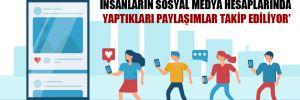 'Konya Büyükşehir Belediyesi'nde insanların sosyal medya hesaplarında yaptıkları paylaşımlar takip ediliyor'