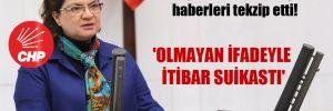 CHP'li Şahin, hakkında çıkan haberleri tekzip etti! 'Olmayan ifadeyle itibar suikastı'