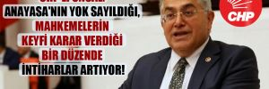 CHP'li Ünsal: Anayasa'nın yok sayıldığı, mahkemelerin keyfi karar verdiği bir düzende intiharlar artıyor!