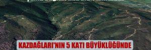 Şahin Dağları'nda altın tahribatı!