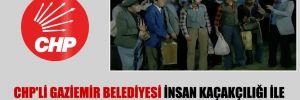 CHP'li Gaziemir Belediyesi insan kaçakçılığı ile gündeme gelen AKP'li belediyeleri böyle tiye aldı