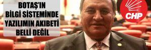 CHP'li Gürer: BOTAŞ'ın bilgi sisteminde yazılımın akıbeti belli değil