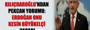 Kılıçdaroğlu'ndan Pekcan yorumu: Erdoğan onu kesin büyükelçi yapar!