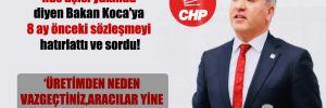 CHP'li Emir, 'Rus aşısı yakında' diyen Bakan Koca'ya 8 ay önceki sözleşmeyi hatırlattı ve sordu!