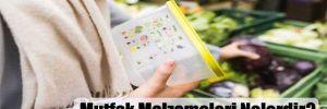 Mutfak Malzemeleri Nelerdir?