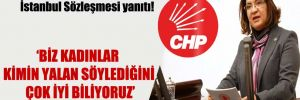 CHPli Şahin'den Bakan Soylu'ya İstanbul Sözleşmesi yanıtı!