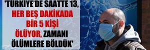 'Türkiye'de saatte 13, her beş dakikada bir 5 kişi ölüyor, zamanı ölümlere böldük'