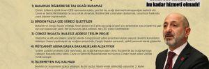 CHP'li Öztunç: Cengiz İnşaat'a, kendi CEO'larının bile bu kadar hizmeti olmadı!