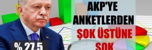 AKP'ye anketlerden şok üstüne şok