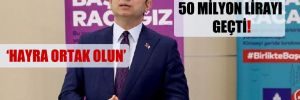 'Askıda Fatura' 50 milyon lirayı geçti!