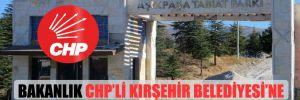 Bakanlık CHP'li Kırşehir Belediyesi'ne vermediği parkı yine ihaleye çıkardı!