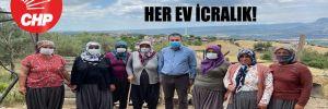 CHP'li Bulut: 300 haneli köyde her ev icralık!