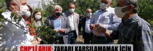 CHP'li Arık: Zararı karşılamamak için bin dereden su getiriyorlar!