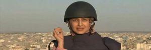 Gazze'de füzeler canlı yayın sırasında gazetecileri teğet geçti