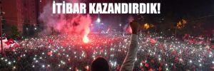 İmamoğlu: 16 milyonluk İstanbul'a itibar kazandırdık!