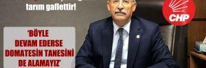 CHP'li Kaplan: Dışa bağımlı tarım gaflettir!