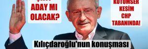 Kılıçdaroğlu'nun konuşması siyaseti hareketlendirdi! Çatı aday mı olacak?