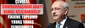 'Kılıçdaroğlu ve çevresi, 'Cumhurbaşkanı adayı Kemal Kılıçdaroğlu' fikrine toplumu yavaş yavaş ısındırmaya çalışıyor'