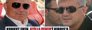 Korkut Eken, Atilla Peker'i Kıbrıs'a 'devlet stratejisi' nedeniyle götürmüş!