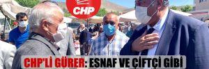 CHP'li Gürer: Esnaf ve çiftçi gibi besici de perişan!