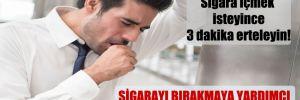 Sigara içmek isteyince 3 dakika erteleyin!