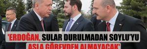 'Erdoğan, sular durulmadan Soylu'yu asla görevden almayacak'
