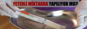 Koronavirüs testi Türkiye'de yeterli miktarda test yapılıyor mu?