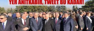 CHP'den MHP'li Büyükataman'a eli arkada fotoğraf yanıtı: Yer Anıtkabir, tweet bu kadar!