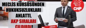 CHP'li Erbay Meclis kürsüsünden hukuksuzlukları anlattı, AKP sıraları çıldırdı!