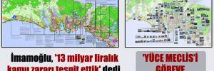İmamoğlu, '13 milyar liralık kamu zararı tespit ettik' dedi, CHP Meclis araştırması istedi!
