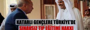Katarlı gençlere Türkiye'de sınavsız tıp eğitimi hakkı verildi!