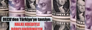 OECD'den Türkiye'ye tavsiye: Halka krediyle borçlandırmayın, karşılıksız destek verin!