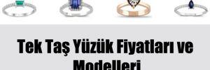 Tek Taş Yüzük Fiyatları ve Modelleri