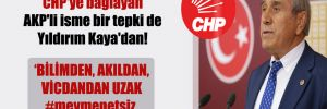 Müsilajın nedenini CHP'ye bağlayan AKP'li isme bir tepki de Yıldırım Kaya'dan!