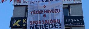 CHP'li başkandan AKP'li başkana: 6 yüzme havuzu nerede?