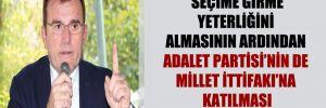 'Seçime girme yeterliğini almasının ardından Adalet Partisi'nin de Millet İttifakı'na katılması bekleniyor'
