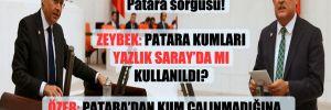CHP'li vekillerden Bakanlara Patara sorgusu!