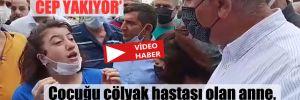 Çocuğu çölyak hastası olan anne, CHP'li Tekin'e böyle dert yandı!