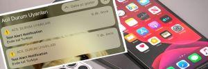 iPhone kullanıcılarına 'Evde kal Türkiye' mesajı
