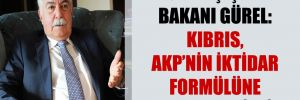 Eski Dışişleri Bakanı Gürel: Kıbrıs, AKP'nin iktidar formülüne kurban edildi!