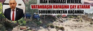 CHP'li Bakırlıoğlu: İktidar İBAN numarası vererek, vatandaşın kafasına çay atarak sorumluluktan kaçamaz