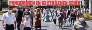 Ankara, 5 büyükşehir içerisinde pandemiden en az etkilenen şehir!