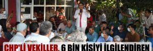 CHP'li vekiller, 6 bin kişiyi ilgilendiren sorun için yurttaşlarla buluştu!