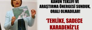CHP'li Şevkin: Kanun teklifi ve araştırma önergesi sunduk, oralı olmadılar!