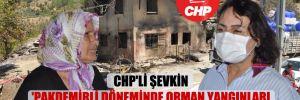 CHP'li Şevkin 'Pakdemirli döneminde orman yangınları arttı' dedi, araştırma önergesi verdi!