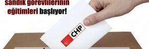 CHP'de sandık görevlilerinin eğitimleri başlıyor! Kara listeye alınanlar var