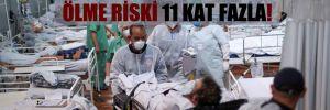 Aşı olmayanlarda Covid-19'dan ölme riski 11 kat fazla!